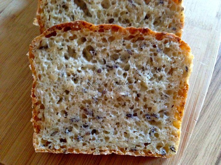 kenyér, kenyér recept, házi kenyér, gyors zabpelyhes kenyér, Kocsis Hajnalka receptje, www.mokuslekvar.hu