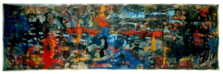Stefan Ramniceanu - 1996 | 750 x 212 cm