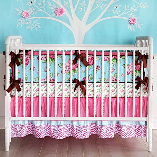 crib beddingCrib Bedding, Ideas, Girls Room, Cribs Beds, Trees, Baby Room, Baby Girls, Girls Nurseries, Beds Sets