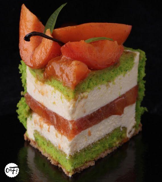 C'est ma fournée !: La charlotte abricot/verveine de Christophe Felder