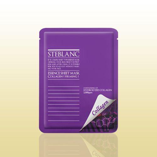 Маска для лица STEBLANC ESSEN CESHEET MASK-Collagen подойдет для стареющей кожи. Активный компонент маски – коллаген, обеспечивает моментальное разглаживание мимических и возрастных морщин, обеспечивает подтяжку лица. Буквально в одно применение вы сможете ощутить видимый эффект! Материал маски изготовлен из волокон высокого сорта, отлично прилегает к коже, способствует быстрому впитыванию всех компонентов маски. #мужскаякрасота, #кожалица, #здоровье, #красота, #средствапоуходу, ...