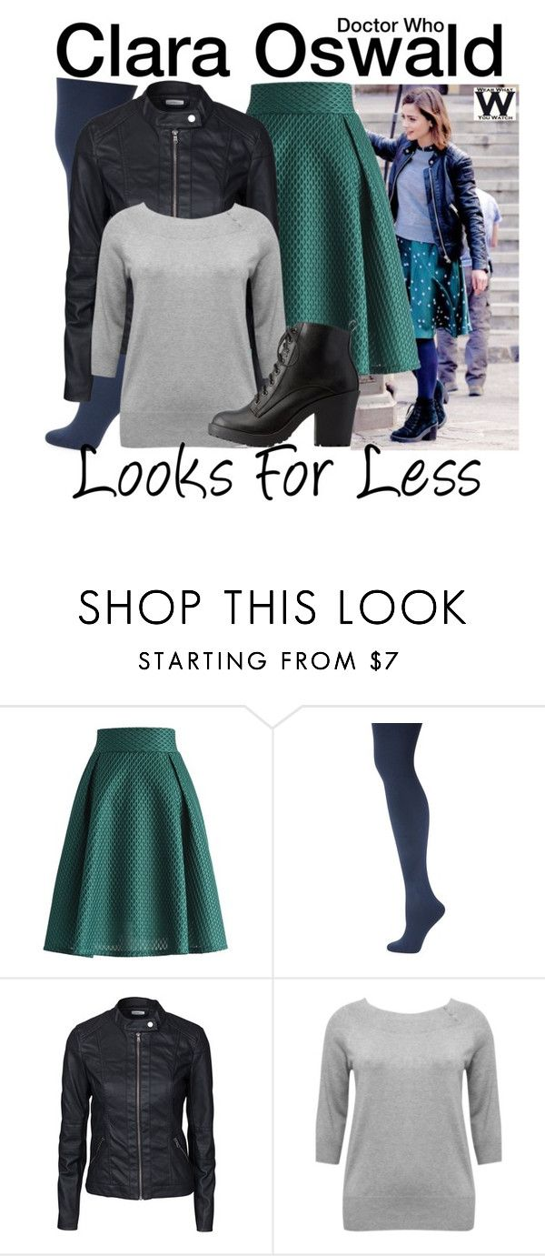 """Doctor Who - Looks for Less"" by wearwhatyouwatch ❤ liked on Polyvore featuring Coleman, Chicwish, Kate Spade, Jacqueline De Yong, M&Co, Charlotte Russe, television and wearwhatyouwatch"