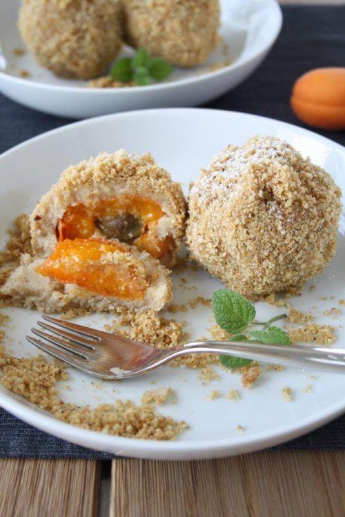 Marillenknödel mit Topfenteig - vegan! · Homemade Deliciousness