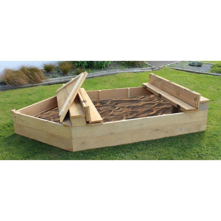 Boat Sandpit & Storage