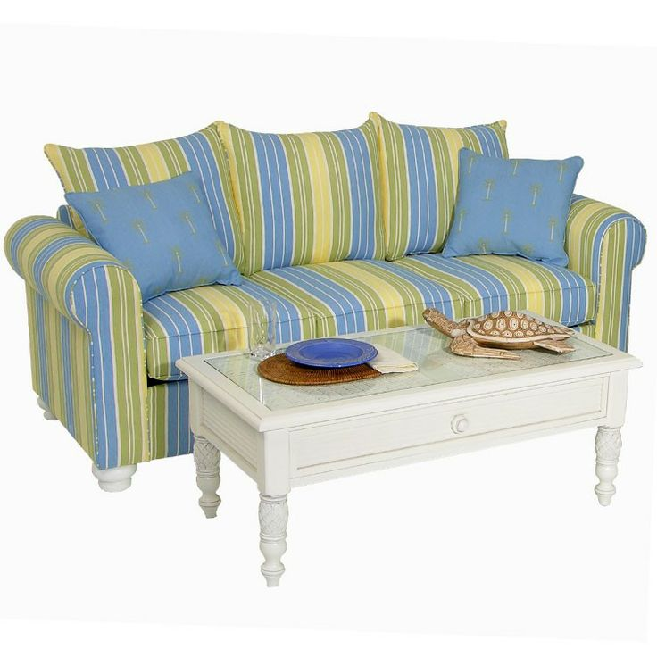Leaders Casual Furniture - Coastal Cottage Striped Queen Sleeper Sofa, $839.99 (http://www.leadersfurniture.com/products/coastal-cottage-striped-queen-sleeper-sofa.html)