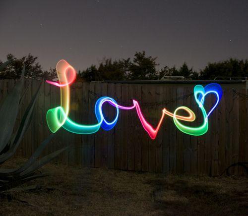 via tumblr: Festivals Style, Trav'Lin Lights, Neon, Rainbows, Art, Valentines Day, Things, Lights Paintings, Bright Colors