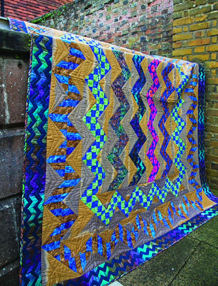 Kaffe Fassett's Sew Artisan book, featured at Red pepper Quilts