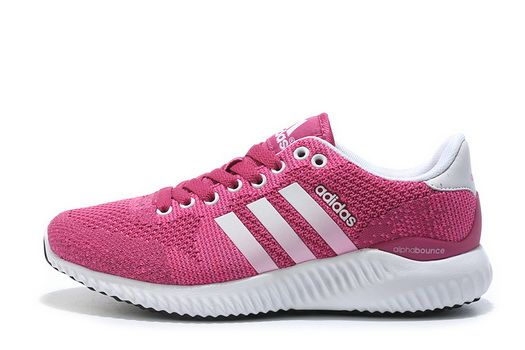 size 40 ee48f 8b715 Adidas Alphabounce Fall Primeknit Hyper Pink White Really Cheap Shoe