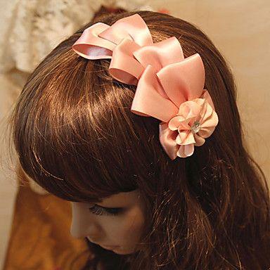 vintage lírio grande fita da pétala da flor cabeça das mulheres – BRL R$ 19,34