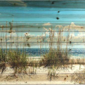 Sand Dunes Beach Print on Wood                                                                                                                                                                                 More