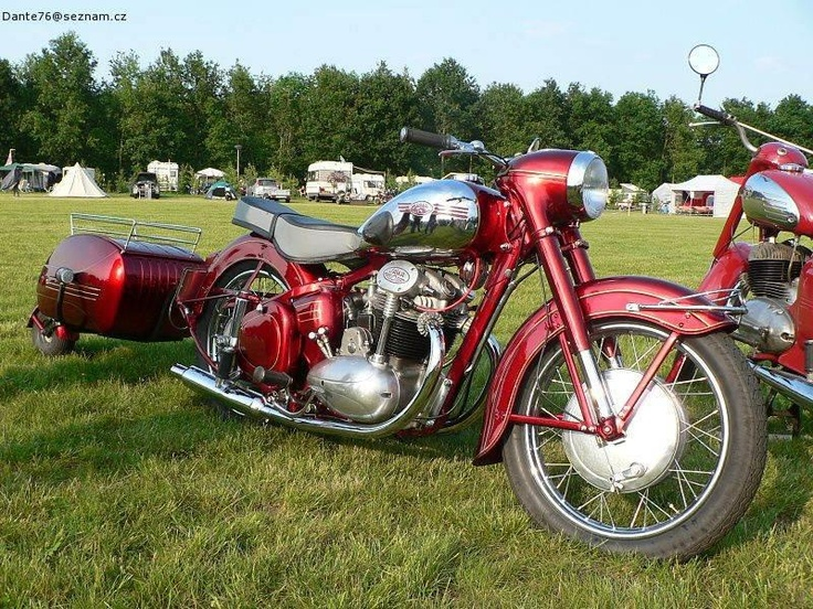 Jawa 350 + PAV oldtimer