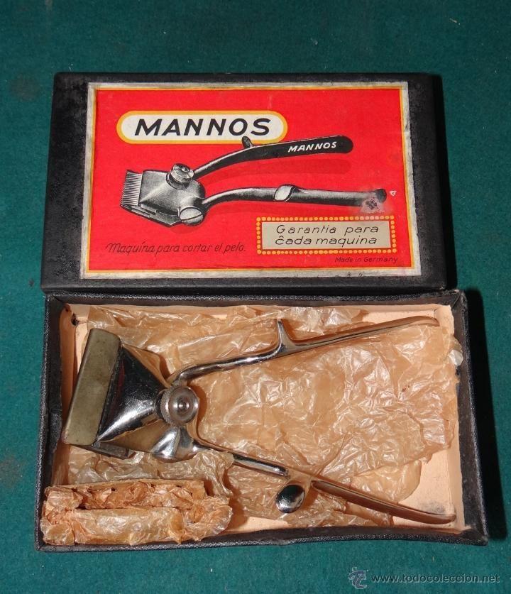 MANNOS - MAQUINA PARA CORTAR EL PELO - Nº 0 - GERMANY   estalcon@gmail.com ==========  VENDIDO ======