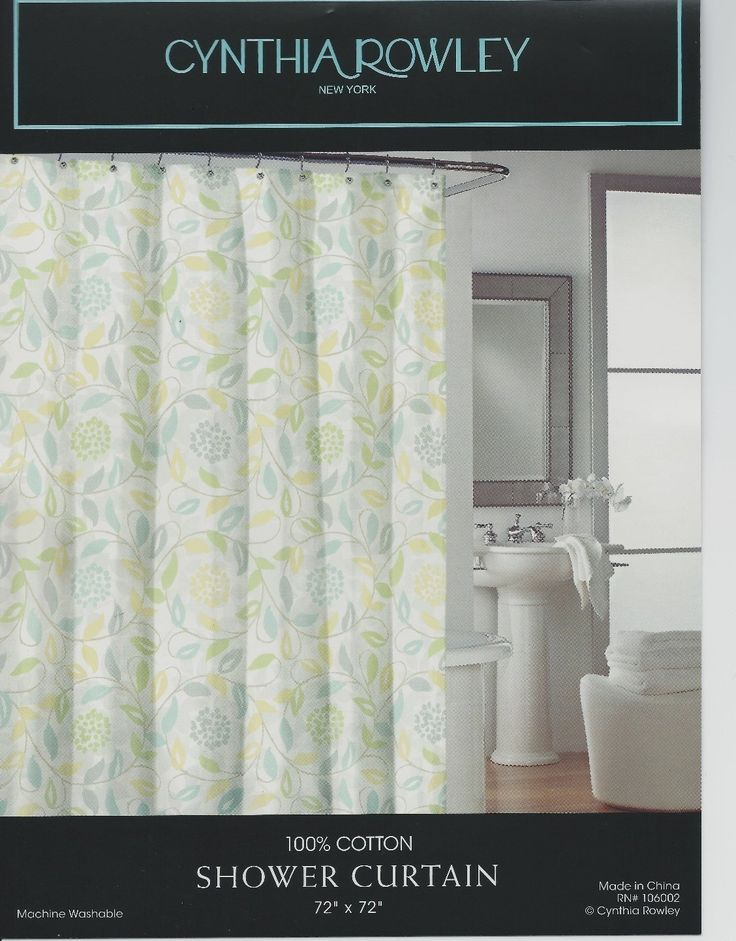 search=cynthia rowley spring floral flowers fabric shower curtain