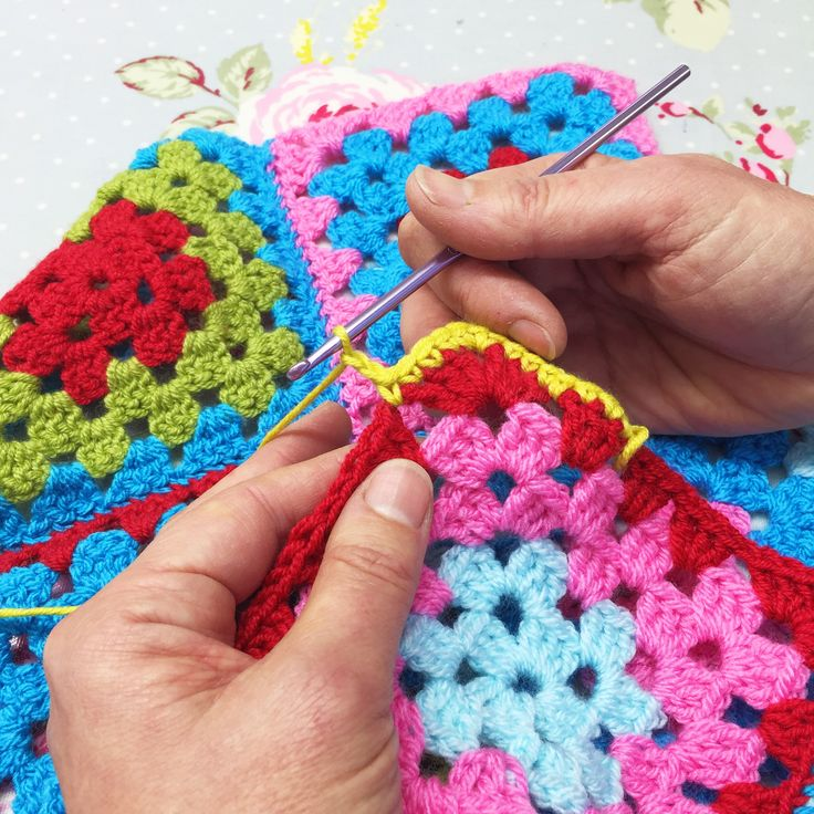 Learn to Crochet Book and DVD filmed at The Gilliangladrag Fluff-a-torium - coming soon! #crochet #courses #grannysquares
