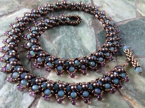Spring Flower Buds Necklace Part 1 - YouTube