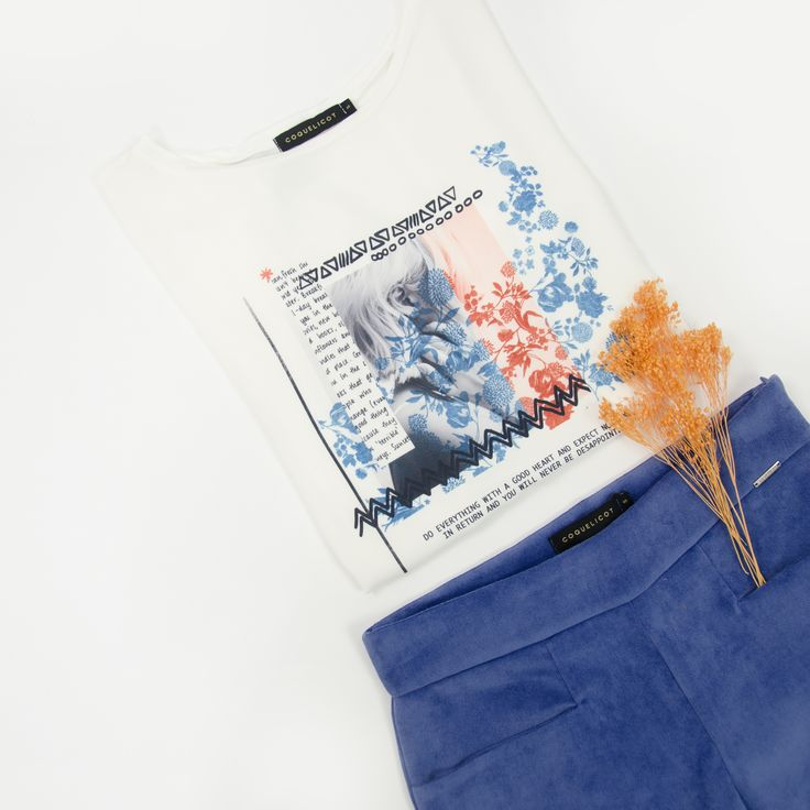 Coquelicot | T-shirt and trousers