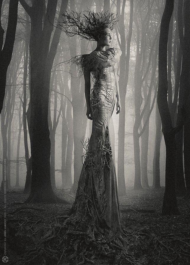 "The Look: Costume design Katarzyna Konieczka (dress) Photography, photomanipulation Jarek ""Khaal"" Kubicki Support Kala Wyroslak - Make Up Artist and Stylist #faerie"