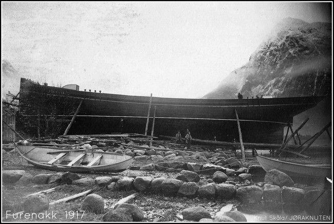 Båtbygger Knut Skåla