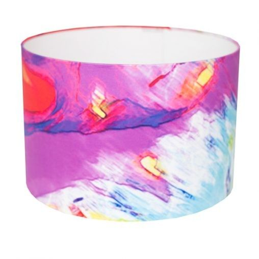 Fushia Lamp Shade