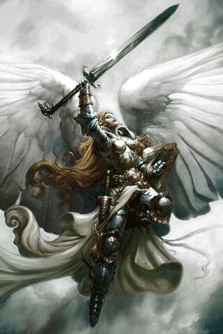 """In Norse mythology, a valkyrie (from Old Norse valkyrja """"chooser of the slain"""") is one of a host of female figures who decide which soldiers die in battle and which live. Selecting among half of those who die in battle (the other half go to the goddess Freyja's afterlife field Fólkvangr), the valkyries bring their chosen to the afterlife hall of the slain, Valhalla, ruled over by the god Odin."""