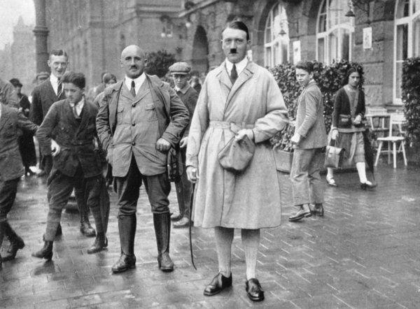 Adolf Hitler and Julius Streicher in Nuremberg - 1923