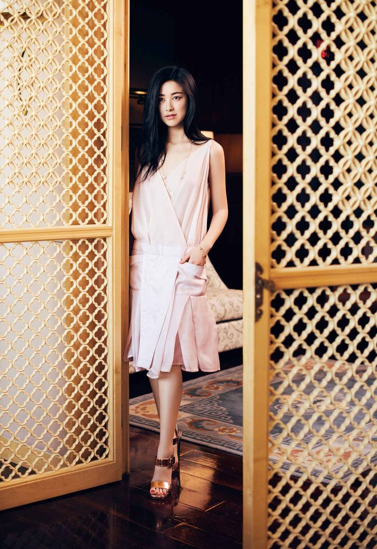 Zhu Zhu by Alexvi Li for Vogue China April 2015