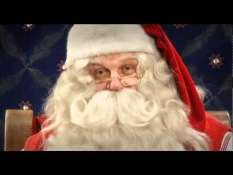 Santa Claus Video Message from Lapland, Finland