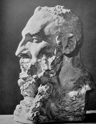 Bust of Rodin, 1888, by Camille Claudel