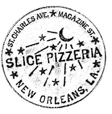 Slice Pizzeria, one of our favorites!