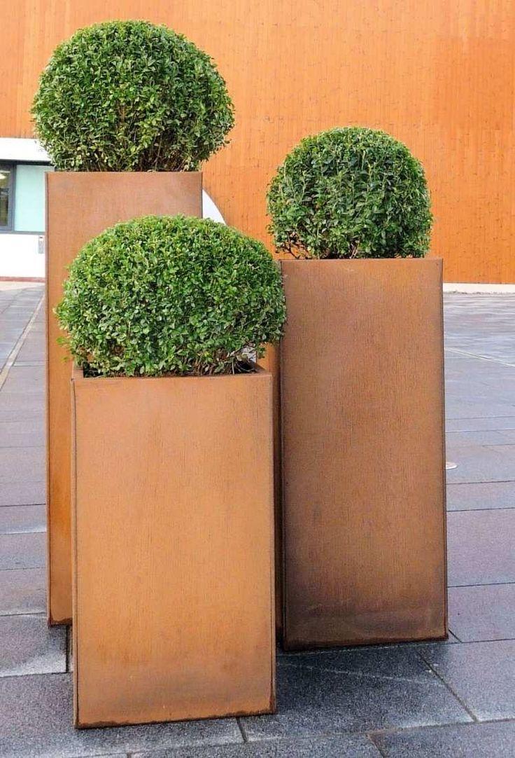55 Id Es Sympas Pour Int Grer L 39 Acier Corten Dans Votre Jardin D Co Design Et Pots