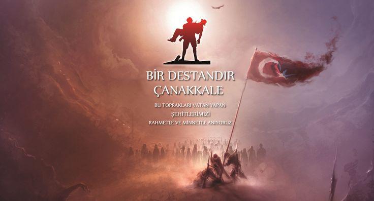 #18Mart Çanakkale zaferi bir destandır. Bu toprakları vatan yapan şehitlerimizi rahmetle ve minnetle anıyoruz...