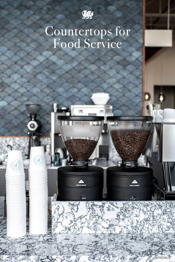 Cambria Quartz Countertops Advantages Commercial Kitchen Design Coffee Shop Decor Cafe Interior Design