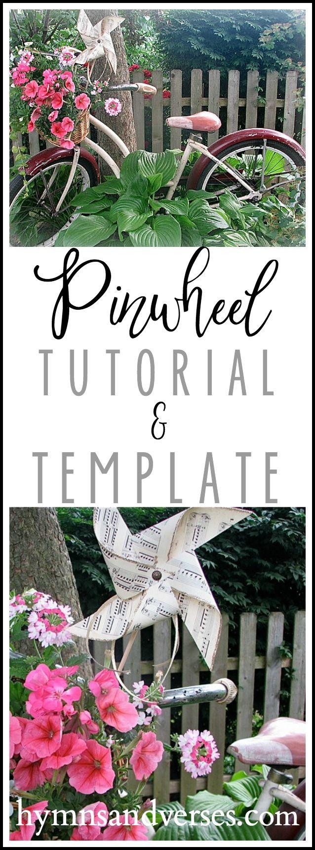 DIY Pinwheel Tutorial