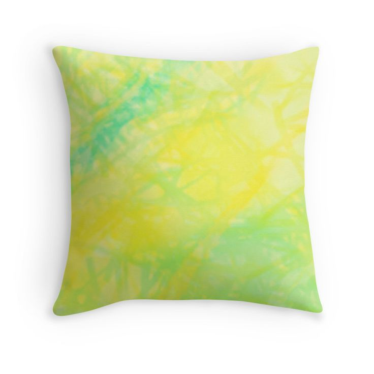 Abstract Pastel.  Abstract design in lemon and  lime tones. Available in throw pillows, wall tapestries, and much more!