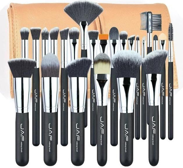 24 Piece Professional Makeup Brush Set High Quality Soft Professional Makeup Artist Makeup Brush Set Professional Makeup Brush Set Professional Makeup Artist