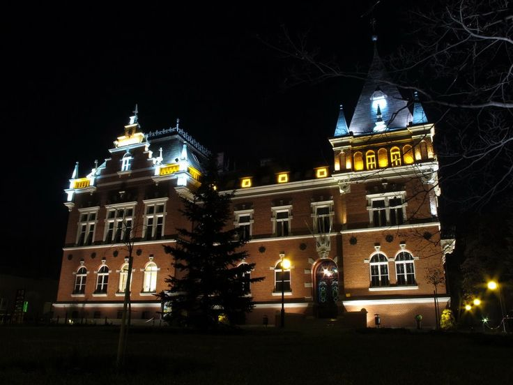 Rybnik - the building of the office of administrative district