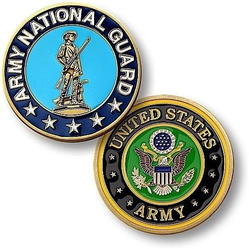 U.S. Army National Guard Coin