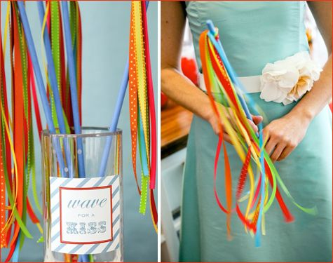 Paint and Assembly: Kids Parties, Ribbon Wands, Waves, Fun Ideas, Ribbons Wands, Garlands, Ribbons Streamers, Ribbons Sticks, Ribbons Thot