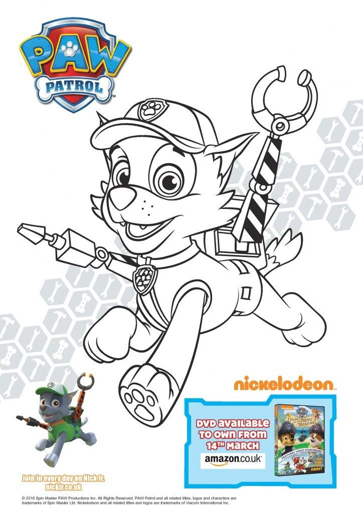 Paw Patrol Pups And The Pirate Treasure Colouring Page Printables And Dvd Giveaway In The Playroom Paw Patrol Coloring Paw Patrol Coloring Pages Paw Patrol