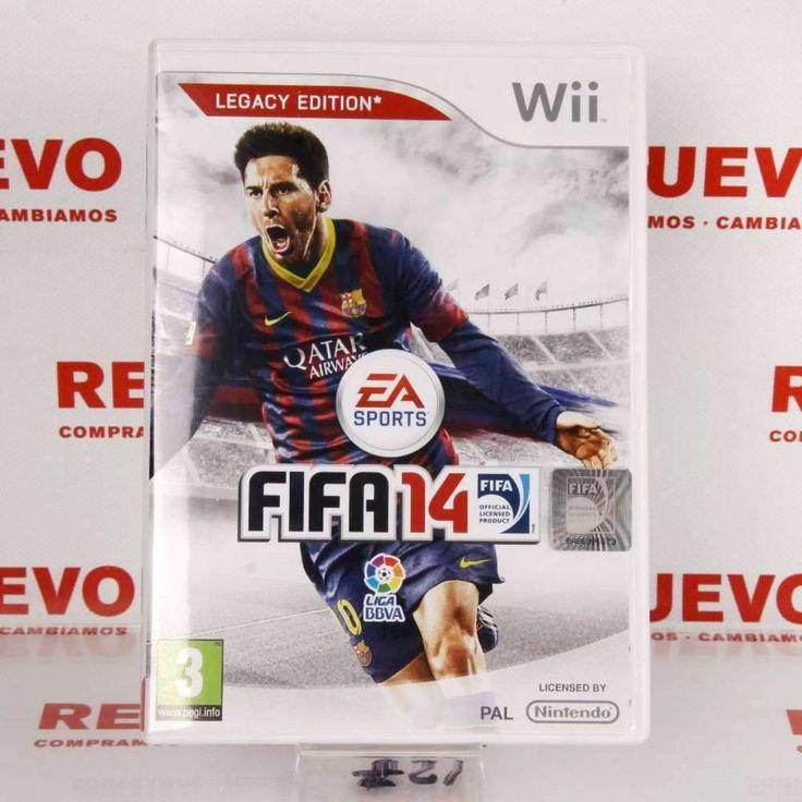 Juego FIFA 14 para WII de segunda mano E271905 #Juego fifa14#de segunda mano#Wii