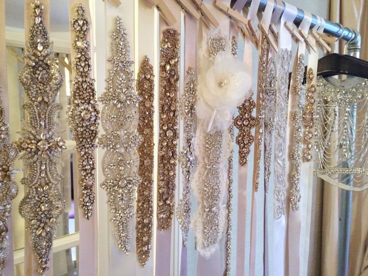 Haute Bride  Spring 2015 Sashes and Belts Collection http://www.hautebride.com