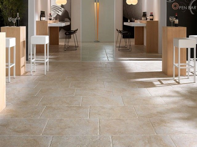 Gres porcellanato effetto pietra leccese new house pinterest building country and french - Piastrelle iperceramica ...