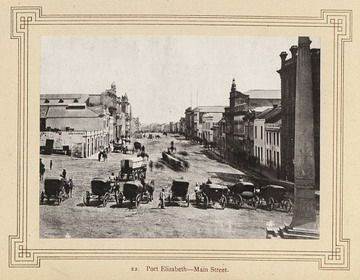 Port Elizabeth--Main Street. | South Africa by The National Archives UK