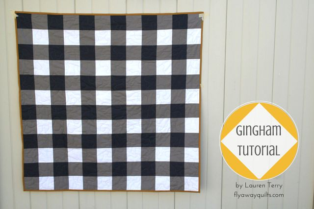 Fly Away Quilts: Gingham Quilt Pattern