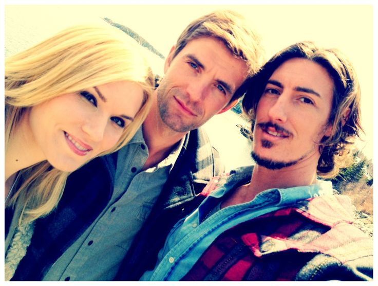 Emily Rose, Lucas Bryant, and Eric Balfour aka Audrey, Nathan, and Duke