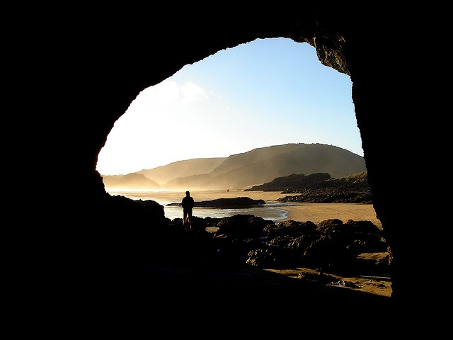 Bethells Beach Cave, New Zealnd (Photo by Damien and Marie)