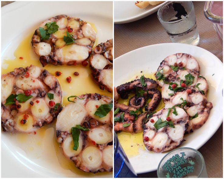 Χταπόδι καρπάτσο http://www.kitchenstori.es/2013/10/octopus-carpaccio.html