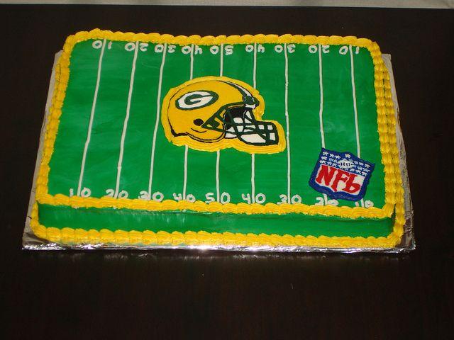 groom's cake ideas greenbay packers | green bay packer cake | Flickr - Photo Sharing!