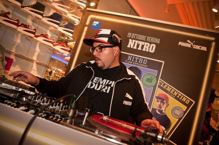 Nitro @ AW LAB Verona   http://www.aw-lab.com/the-lab/free-yo-style/aw-lab-verona/