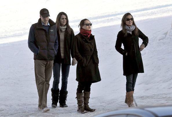 Kate Middleton in Prince William and Kate Middleton in the French Alps